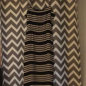 J Crew navy and white stripe dress 00